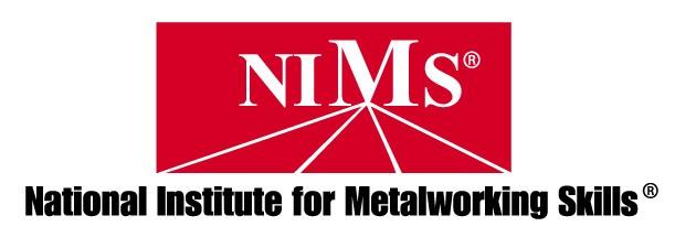 NIMS (National Institute for Metalworking Skills) Logo