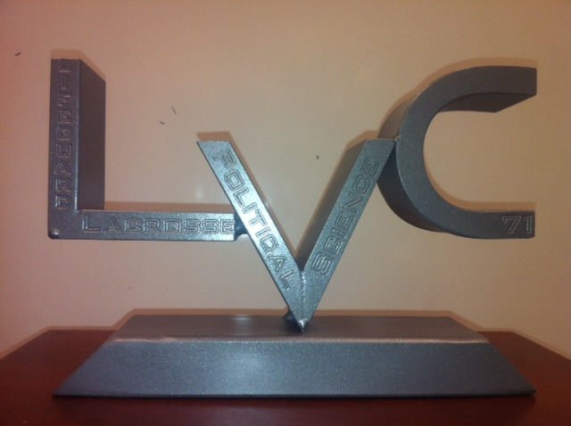 This gift was made by students in Precision Machining and Welding.
