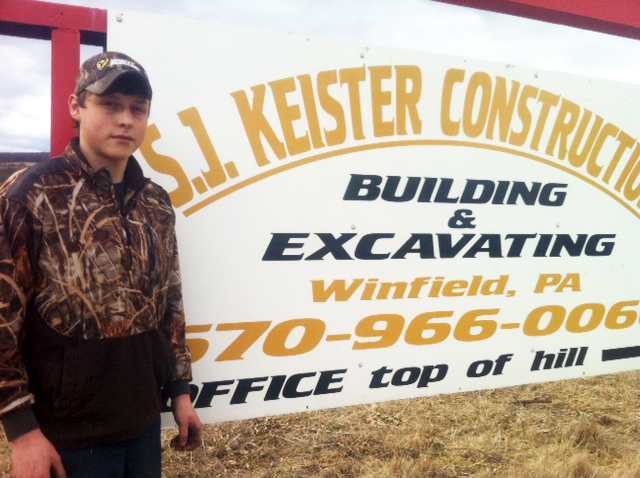 Rodney Kline is another successful co-op student. He was placed with S.J. Keister Construction of Winfield.