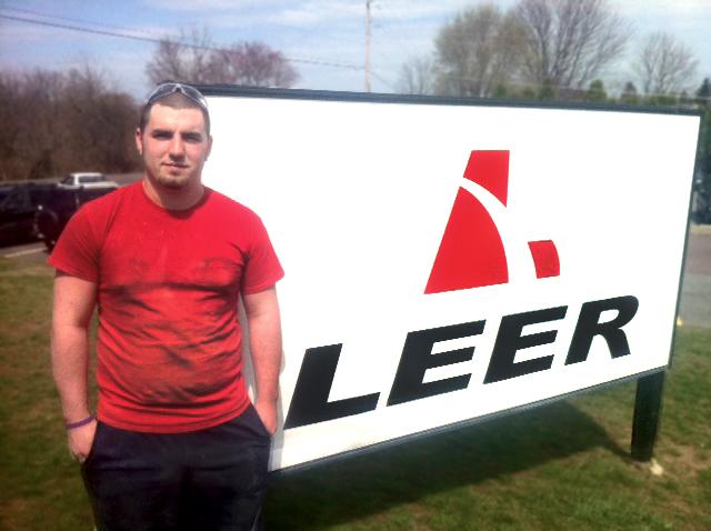 Tyler Spear at Leer Industries