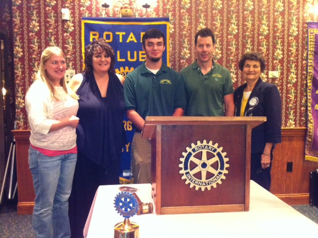 September 2013 Rotary Student of the Month John Punako