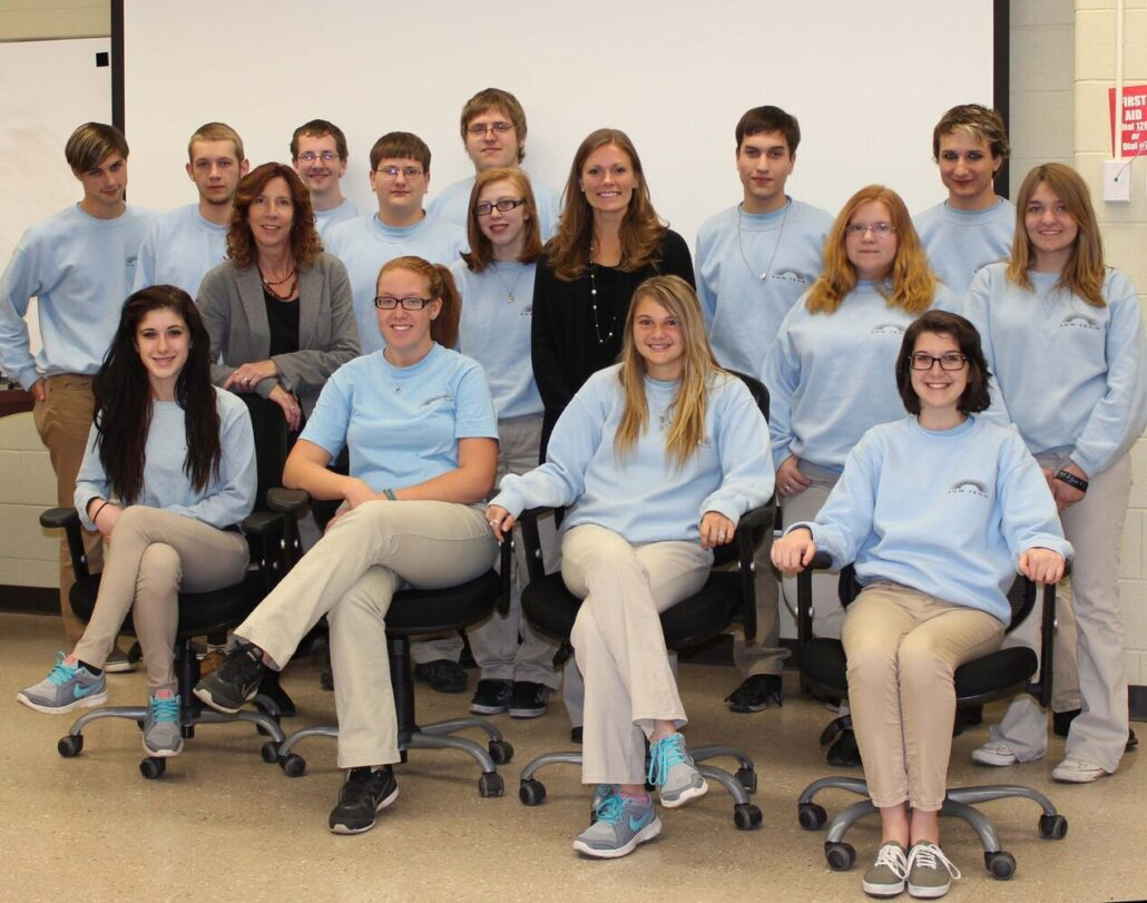2013 Ad Art Class and Jacey Ross of the Art Institutes