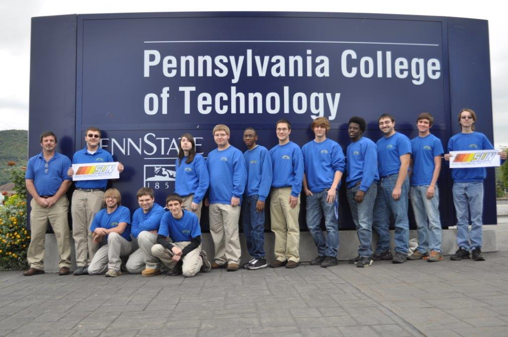 2013-2014 Electronics Students at Penn College