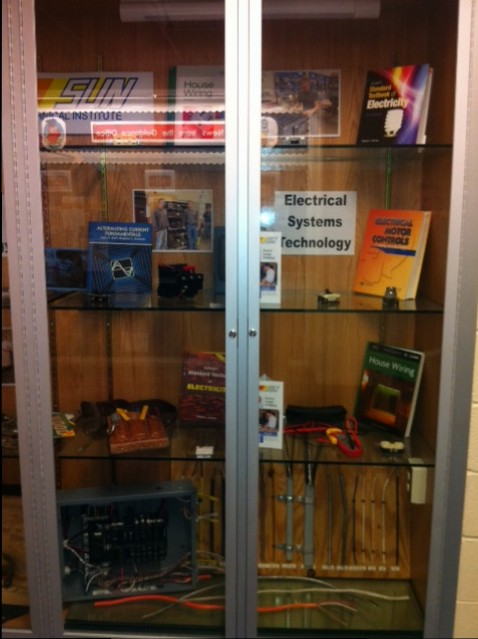 Electrical Systems Technology Display at Mifflinburg High School