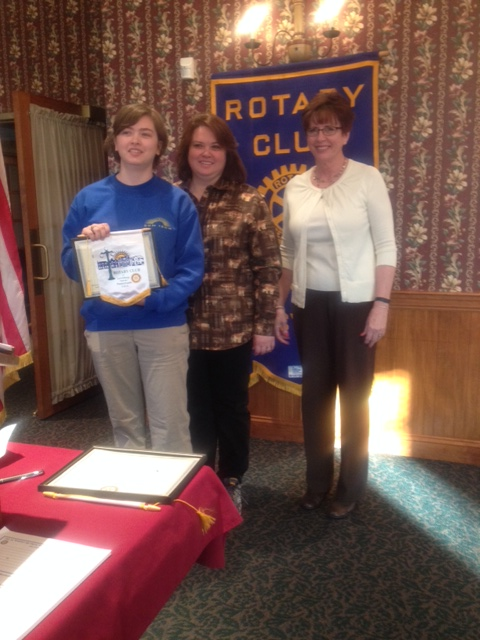 Brooke Raker, March Student of the Month